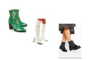 What To Wear Your Colorful Boots With?